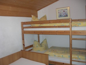 Zimmer Stockbett - Ferienwohnung B